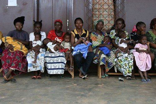 Mothers and children in Central African Republic