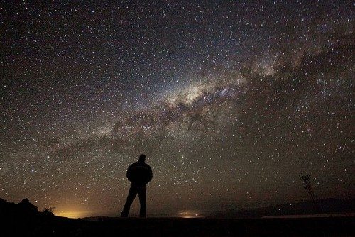 Night sky in the Chilean desert