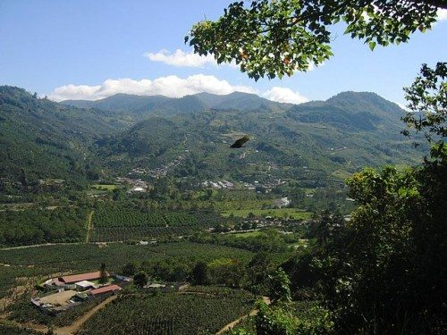 Orosi Valley in Costa Rica