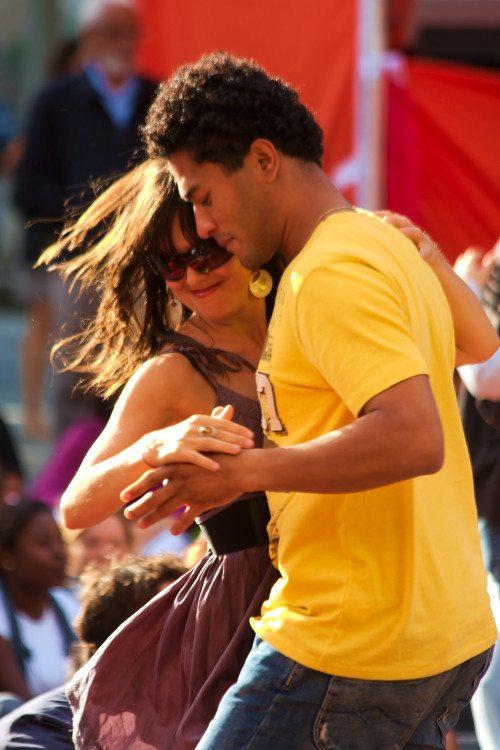 Merengue dancing in Dominican Republic