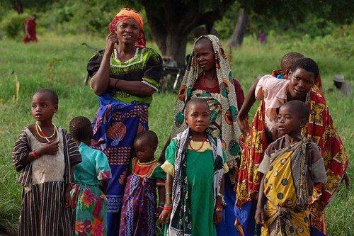 Tanzanian children