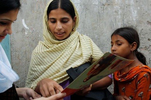 Bangladesh health worker