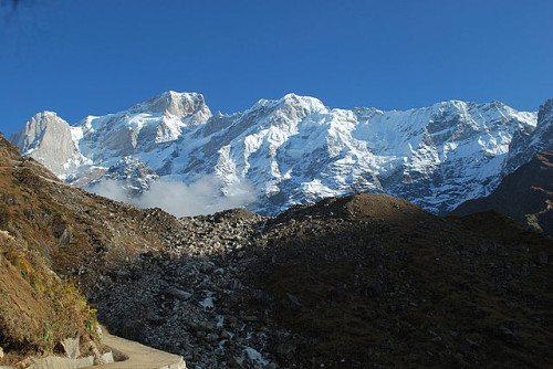 Himalayan Mountain range in India