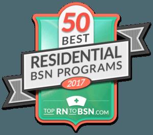 Top 50 Residential BSN Programs 2017
