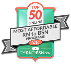 50 Most Affordable Online RN to BSN Programs 2018